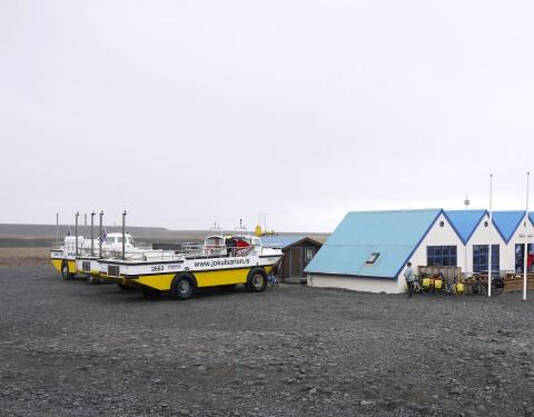 Besucherzentrum Jökulsárlón