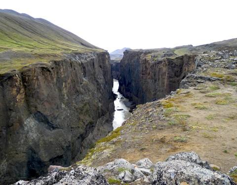 Hafrahvammar Canyon