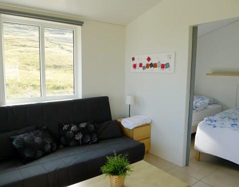 Urdartindur Cottages Wohnzimmer