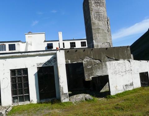 Djupavík, alte Fischfabrik