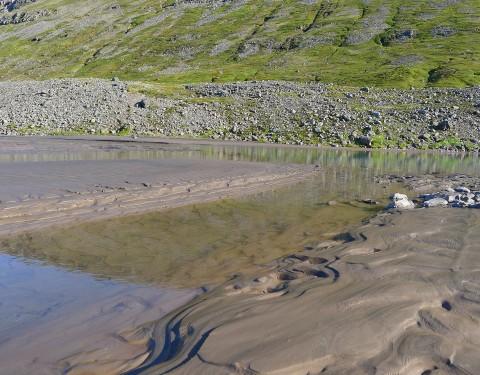 Kaldalón Sandzeichnung
