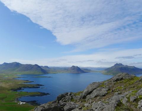Reykjaneshyrna Weg nach oben