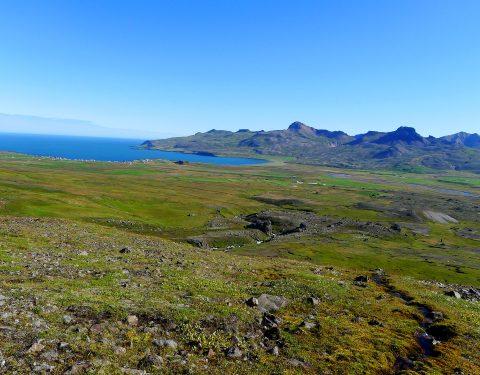 Ostseite der Dyrfjöll